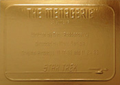 Gold Card G16 - The Menagerie