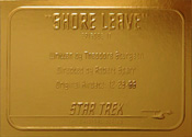 Gold Card G17 - Shore Leave