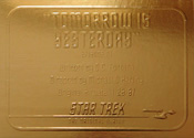 Gold Card G21 - Tomorrow is Yesterday