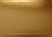 Gold Card G26 - The Devil in the Dark