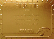 Gold Card G34 - Amok Time