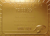 Gold Card G42 - The Trouble with Tribbles