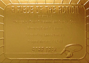Gold Card G49 - A Piece of the Action