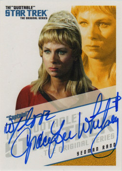QA8 Grace Lee Whitney