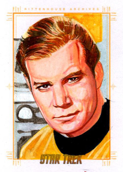 Roy Cover Sketch - Captain James T Kirk