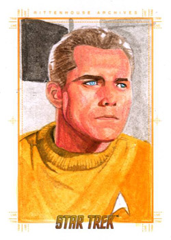 Roy Cover Sketch - Captain Christopher Pike