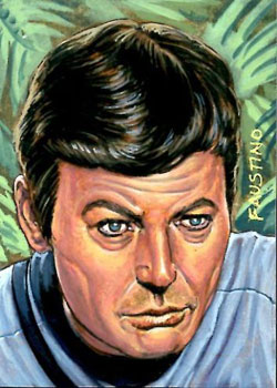 Norman Faustino Sketch - Dr. McCoy