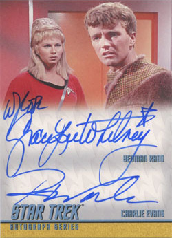 DA8 Grace Lee Whitney & Robert Walker, Jr.
