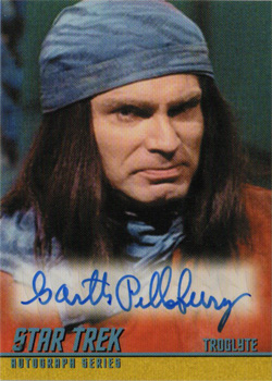 Autograph - Garth Pillsbury