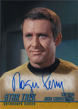 Autograph - Roger Perry