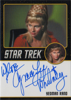 Autograph - Grace Lee Whitney