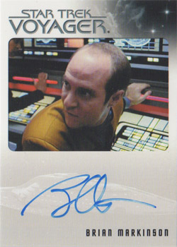 Autograph - Brian Markinson as Peter Durst
