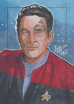 Irma Ahmed Sketch - Chakotay