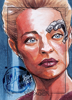 Irma Ahmed Sketch - Seven of Nine