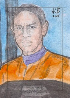 Jeffrey Benitez Sketch - Tuvok