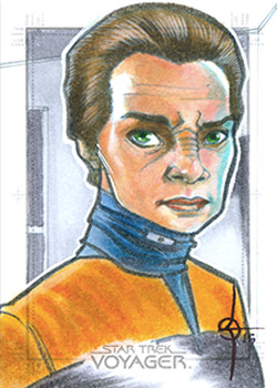 León Braojos Sketch - Seska as Bajoran