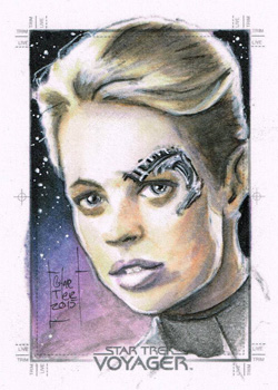 Francois Chartier Sketch - Seven of Nine