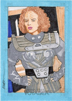 Roy Cover Sketch - B'Elanna Torres