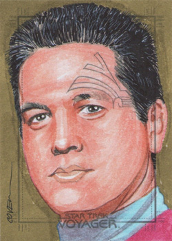 Roy Cover Sketch - Chakotay