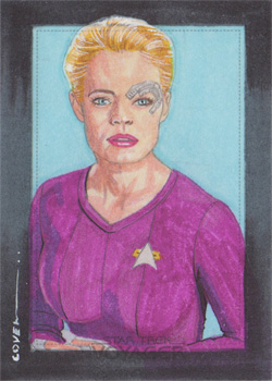 Roy Cover Sketch - Seven of Nine