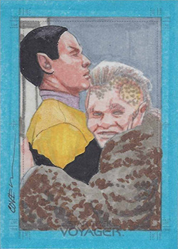 Roy Cover Sketch - Tuvok and Neelix