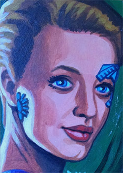 David Day Sketch - Seven of Nine