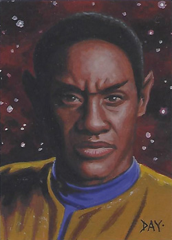 David Day Sketch - Tuvok