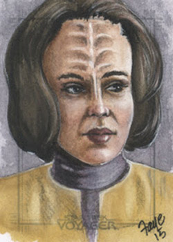 Connie Faye Sketch - B'Elanna Torres