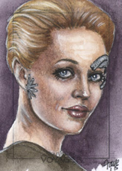 Connie Faye Sketch - Seven of Nine