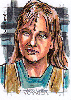 Daniel Gorman Sketch - Naomi Wildman