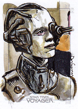 Daniel Gorman Sketch - Seven of Nine