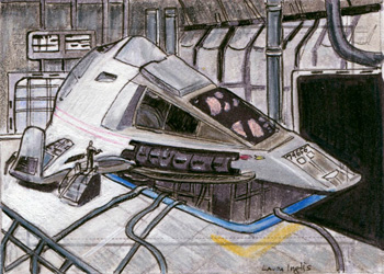 Laura Inglis Sketch - Delta Flyer