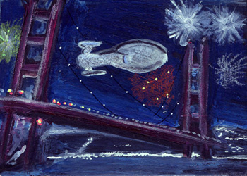 Laura Inglis Sketch - USS Voyager Back Home