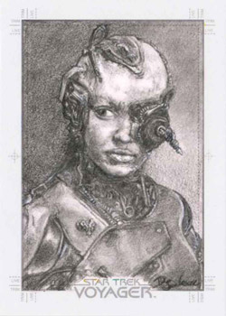 Debbie Jackson Sketch - Seven of Nine