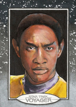 Michael James Sketch - Tuvok