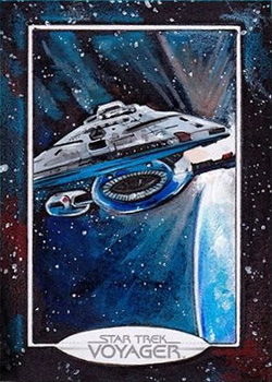 Michael James Sketch - USS Voyager