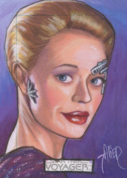 Javier Gonzalez Sketch - Seven of Nine