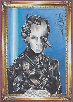 Achilleas Kokkinakis Sketch - Seven of Nine