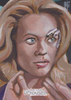 Lee Lightfoot Sketch - Seven of Nine