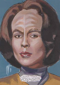 Lee Lightfoot Sketch - B'Elanna Torres