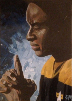 Jeff Mallinson Sketch - Tuvok