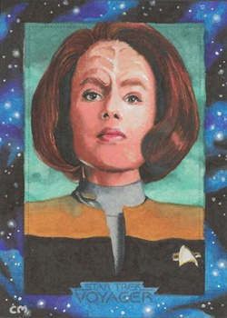 Chris Meeks Sketch - B'Elanna Torres