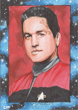 Chris Meeks Sketch - Chakotay