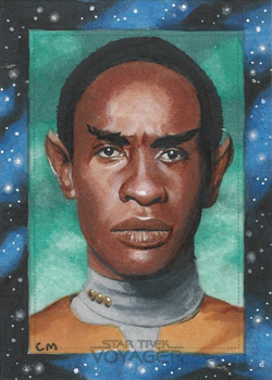 Chris Meeks Sketch - Tuvok
