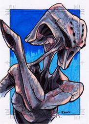 Rich Molinelli Sketch - Species 8472