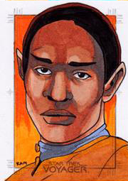 Rich Molinelli Sketch - Tuvok