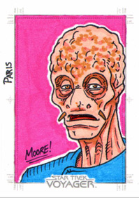 Sean Moore Sketch - Tom Paris, mutated