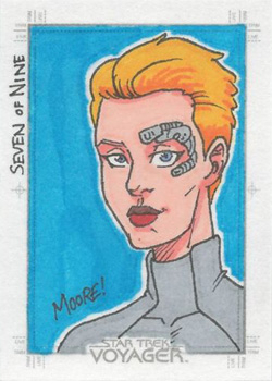 Sean Moore Sketch - Seven of Nine
