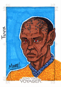 Sean Moore Sketch - Tuvix