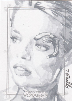 Tanner Padlo Sketch - Seven of Nine